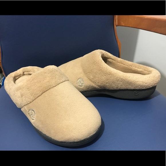 Isotoner women's memory foam slippers